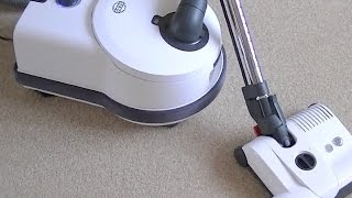 Sebo D4 Premium Cylinder Vacuum Cleaner review & demonstration