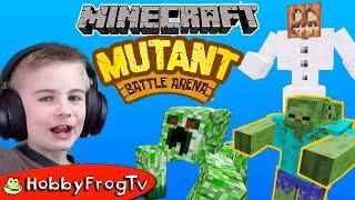 Minecraft Mutant Battle Arena Mod HobbyFrogTV