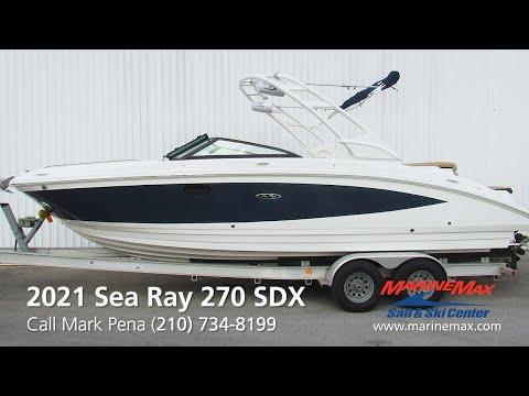 2021 Sea Ray                                                              SDX 270 Image Thumbnail #0