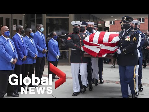 John Lewis: Funeral held for late congressman and civil rights icon in Atlanta   LIVE