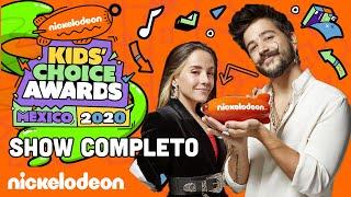 ¡KIDS' CHOICE AWARDS MÉXICO 2020: Show COMPLETO! | Nickelodeon en Español