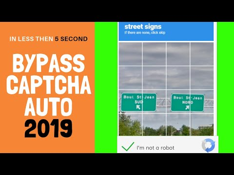 Trick 2018]How to Bypass 'I'm Not a Robot' Captcha Within a