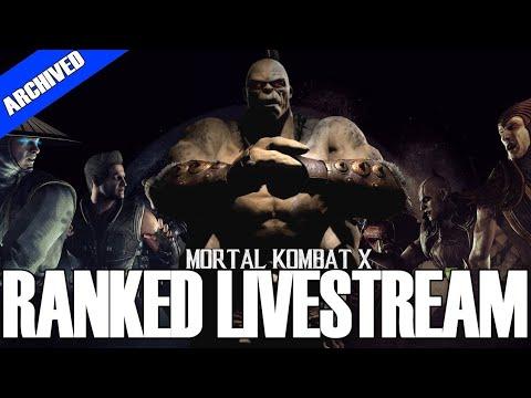 MORTAL KOMBAT X   ThePetulantPanda   60fps Ranked Livestream   WITH