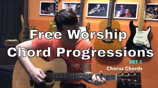 Guitar Emerge - Free Worship Chord Progressions