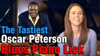 The Tastiest Oscar Peterson Blues Piano Lick