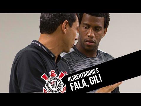 Gil fala sobre desafios do Timão na Colômbia