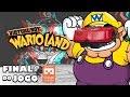 Virtual Boy Wario Land v deo Em 3d Final Do Jogo