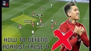 How To Defend Against A False 9? Football Basics Explained