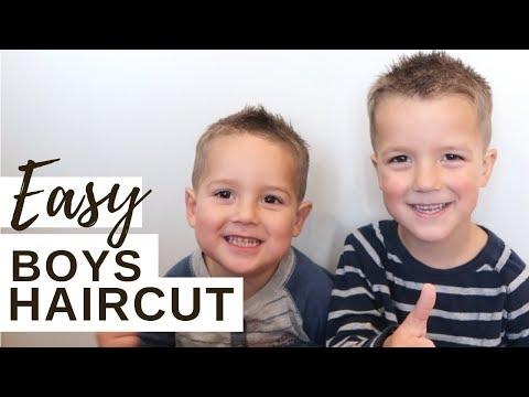 DIY Boys Haircut   Easy & Fail Proof!!! (2018)
