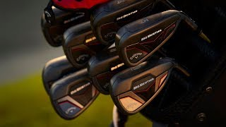 Callaway Big Bertha 5-PW, AW, SW Women's Iron Set w/ UST Recoil ESX 450 Graphite shafts-video