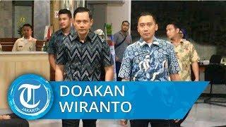 SBY, AHY, dan Ibas Jenguk Wiranto, Doakan Menkopolhukam Agar Segera Pulih