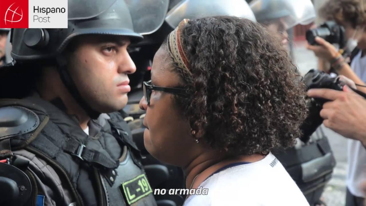 Agente Wilson de Brasil: La sociedad tiene la policía que se merece
