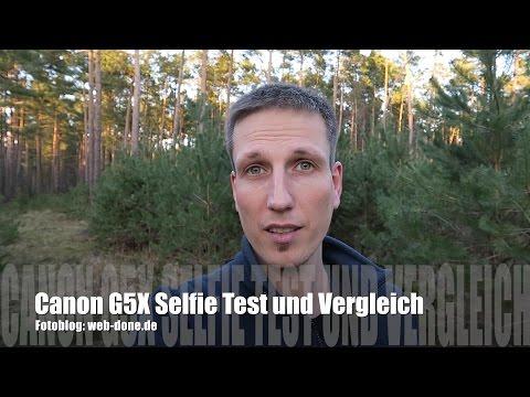 Canon G5X als Vlog/ Selfie-Kamera im Test und Vergleich zur Canon EOS 100D und iPhone (deutsch)