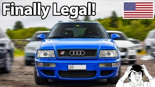 10 Cars Finally Legal In America!!