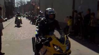 preview picture of video 'Zlot Rynek Pszczyna - Terror Pszczyny - Wjazd na Rynek'