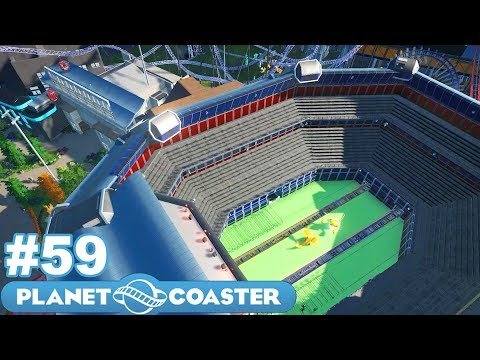 Let's Build the Ultimate Theme Park! - Planet Coaster - Part 59 (Pokémon Stadium