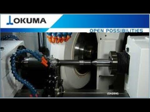 Okuma CNC Cylindrical Grinders (With NC Tailstock)