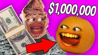 Annoying Orange - Mr. Roast Beast Gives Me $1,000,000!