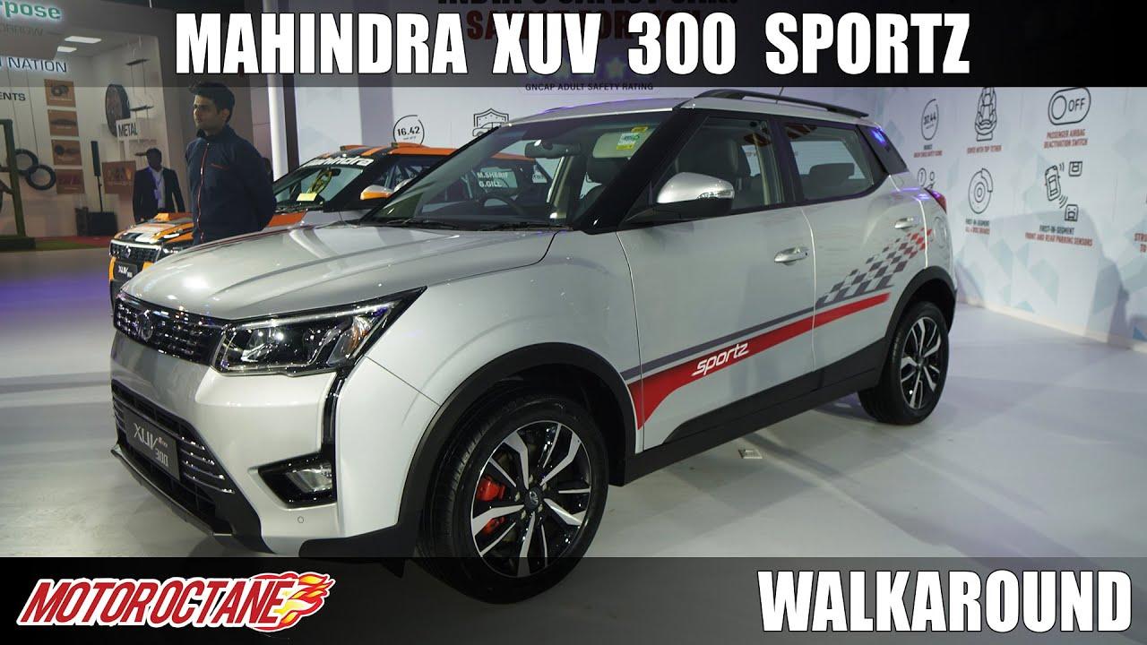 Motoroctane Youtube Video - 120bhp Mahindra XUV300 Sportz   Hindi   Motoroctane
