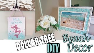 DOLLAR TREE DIY - Beach Mermaid Room Decor Project
