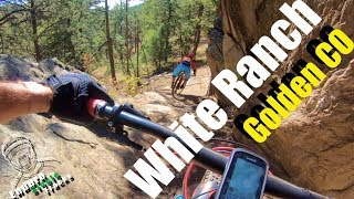 "White Ranch ""technical descent tour"", Golden, CO. Not the best ride of my life but still a pretty good fun. Lot of drops and lot of fun"