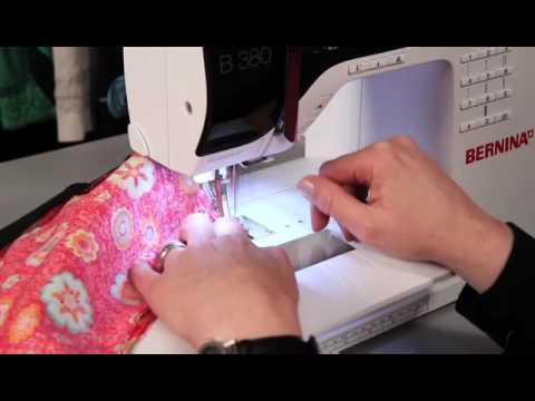 Штопка на швейной машине