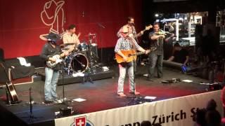Aaron Watson and Band - 3rd gear and 17 - Albisguetli - 2013