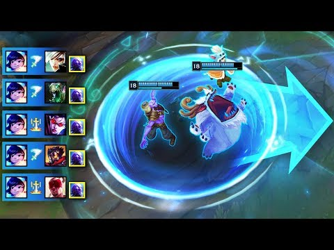 """10 Minutes of """"SATISFYING COMBOS"""" in League of Legends"""