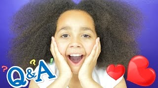 My First Ever Q & A Video! Questions and Answers - Toys AndMe