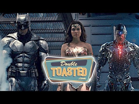 JUSTICE LEAGUE 2017 MOVIE TRAILER #2 REACTION - Double Toasted Review