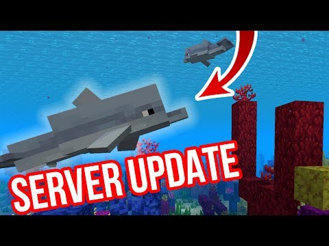 CHYTÁME DELFÍNY DO ZOO! | Server Update #5