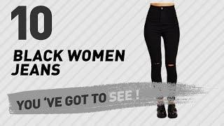 Black Women Jeans // New & Popular 2017
