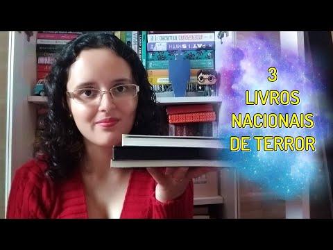 3 LIVROS NACIONAIS DE TERROR PARA LER EM 1 DIA | Blog Pétalas de Liberdade