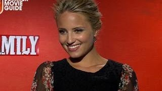 Dianna Agron Tentative For Parents To See Family