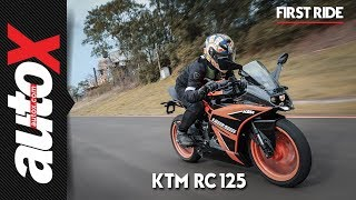 KTM RC 125 Review | First Ride | autoX
