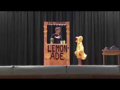 The Duck Song - Live Action! (Marlborough Elementary Talent Show) Filmed in 2012, Posted in 2018