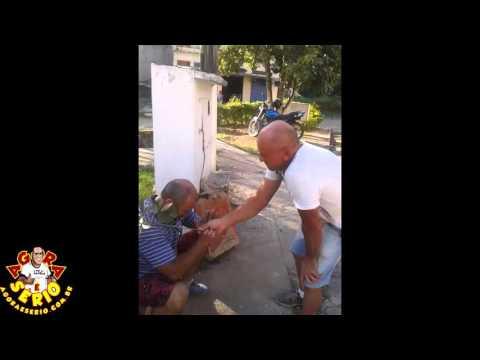 Pai Zezinho curando Edson da Câmara