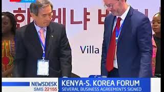South Korean PM in Kenya, oversees Menengai MoU