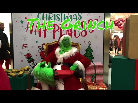 The Grinch Impersonator Video