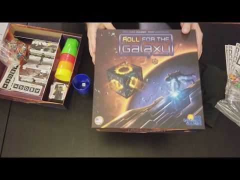 Roll for the Galaxy and Roll for the Galaxy Ambition - Review Video