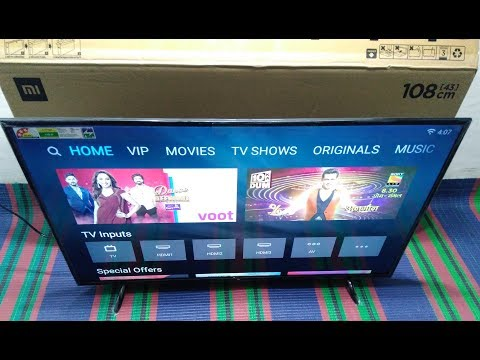 Xiaomi Mi TV 4A (32 inch) UNBOXING AND FIRST LOOK