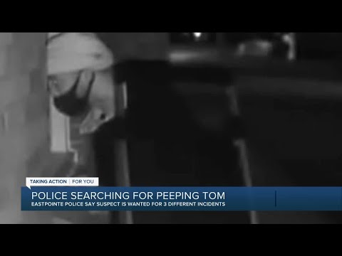 Police searching for Peeping Tom in Eastpointe