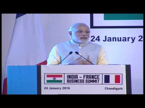 PM Modi's address at India-France Business Summit with President of France François Hollande