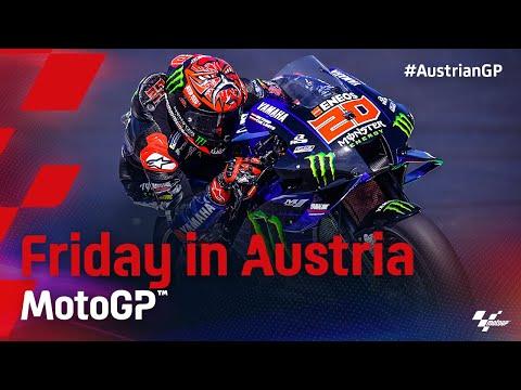 MotoGP 2021 第11戦オーストリアGP 金曜日のハイライト動画