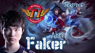 SKT T1 Faker AHRI Mid vs Heimerdinger - Patch 5.24 KR | League of Legends