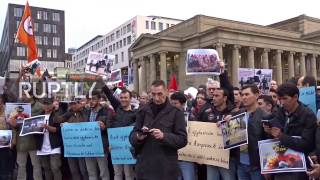 Germany: Protesters rally against Afghan deportations in Stuttgart