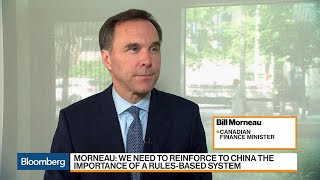 China Is Essentially Kidnapping Canadians, Finance Minister Morneau Says