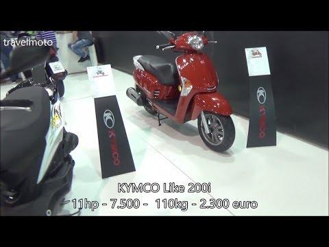 The KYMCO Like 200i scooter 2017
