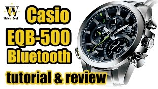Casio EQB 500 - module 5419 - - review & tutorial how to setup and use ALL the functions