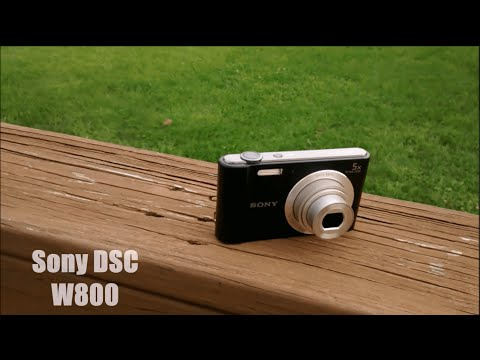 Sony DSC W800 Camera Review!